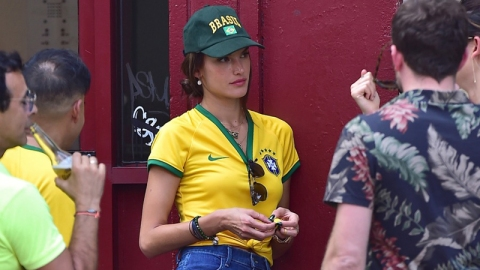 Alessandra Ambrosio Sad About World Cup | StyleCaster