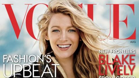 Blake Lively Lands Vogue Cover | StyleCaster