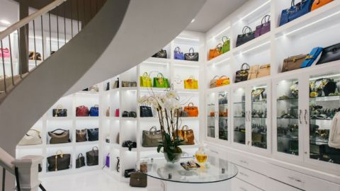 See the Biggest Closet in America   StyleCaster