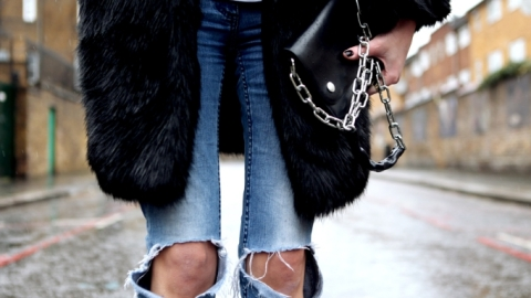 How to Make Ripped Jeans Yourself | StyleCaster