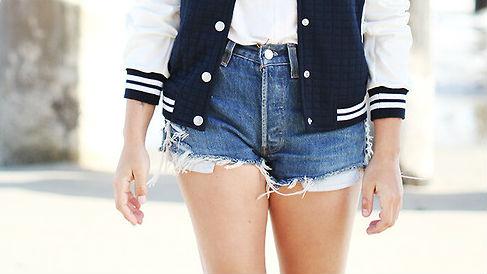 30 Ways to Wear Your Denim Cutoffs All Summer