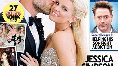 Jessica Simpson's Wedding Dress   StyleCaster
