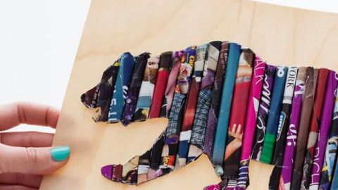 32 Genius Things to Make With Your Old Magazines | StyleCaster