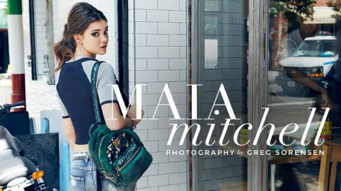 Introducing Maia Mitchell  | StyleCaster