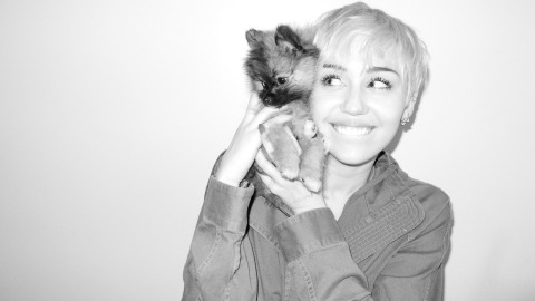 Miley Poses for Terry Richardson | StyleCaster