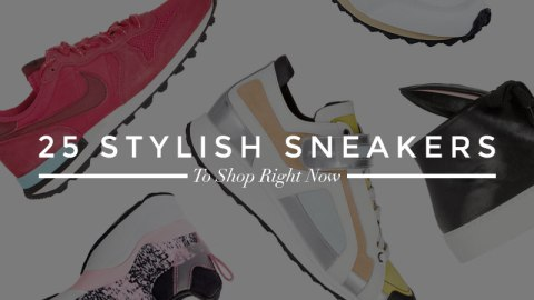 25 Fashion-Forward Sneakers | StyleCaster