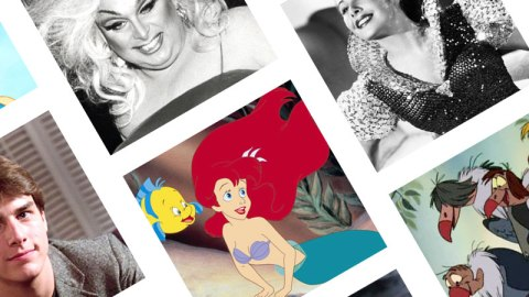 Ariel Was Based on Alyssa Milano?! | StyleCaster