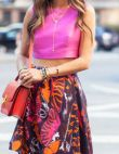 Trend to Try: Crop Tops and Midi Skirts