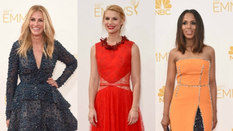 See All the Emmy's Red Carpet Fashion | StyleCaster