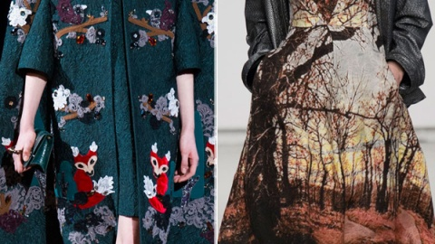 Fall 2014 Trend: Into the Woods | StyleCaster