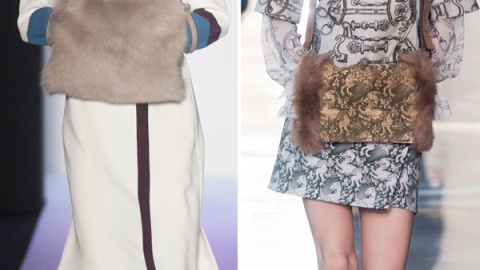 Fall 2014 Trend: Fur Muffs | StyleCaster