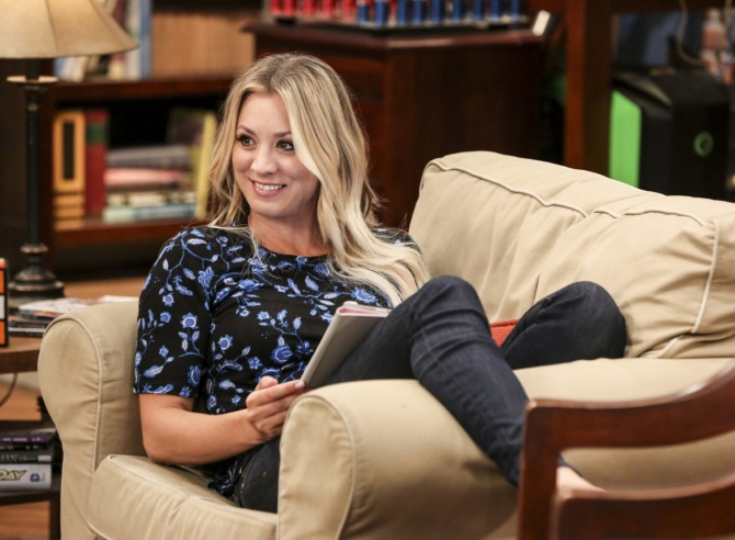 kaley cuoco Kaley Cuoco Stacked Her Coins For The Final Season Of The Big Bang Theory