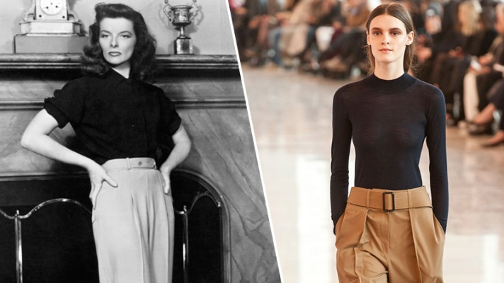 7 Old Hollywood Stars Who Inspired Fall's Top Trends