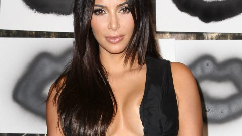 Another Day, Another Boob Look for Kim | StyleCaster