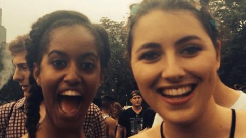 Malia Obama Went to Lollapalooza! | StyleCaster