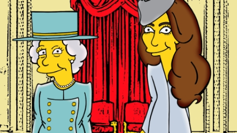 Kate Middleton is a Simpson! | StyleCaster
