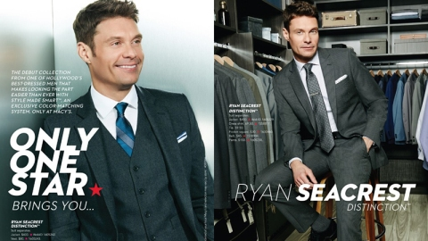Ryan Seacrest is Now Selling Suits | StyleCaster
