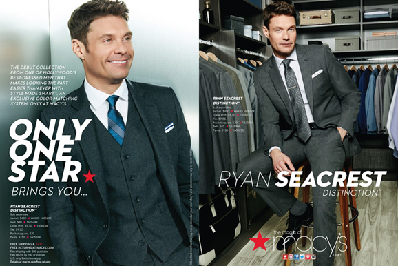 ryan main Macys is Launching a Ryan Seacrest Collection: Do Men Really Want to Dress Like Him?