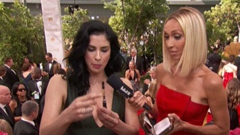 Sarah Silverman Brought Pot to the Emmys | StyleCaster