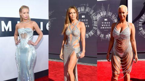 So Many Silver VMA Naked Dresses | StyleCaster
