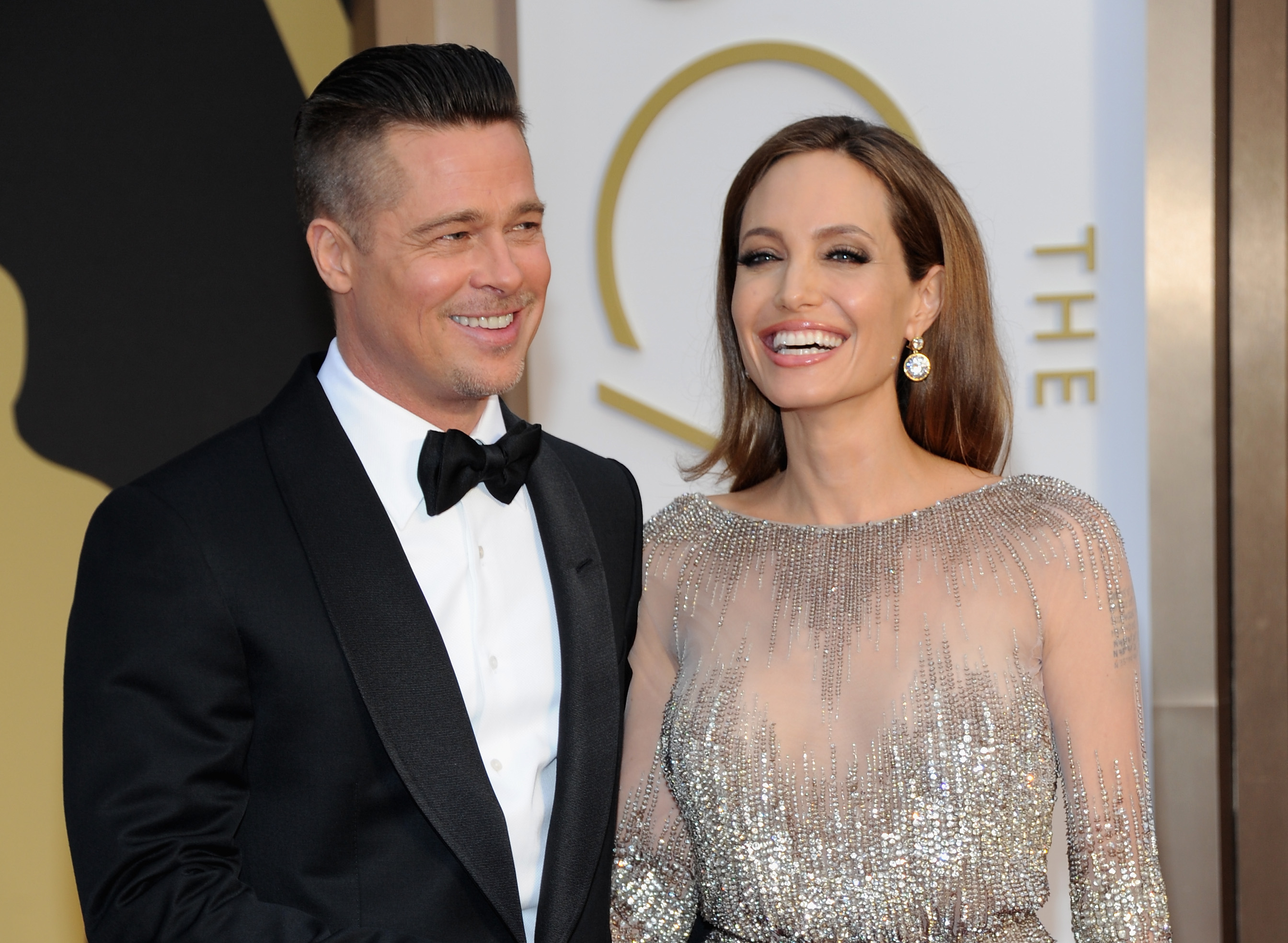 brad pitt Angelina jolie are married france august 2014