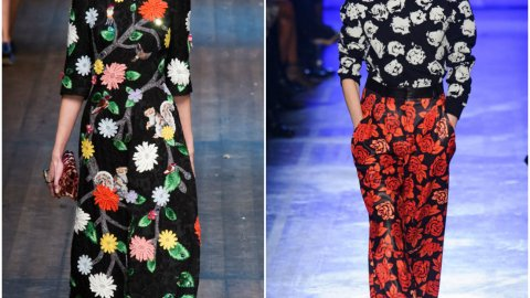 Fall 2014 Trend: Winter Florals | StyleCaster
