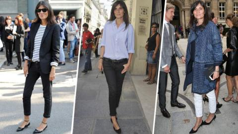 How to Wear Jeans the French Way | StyleCaster