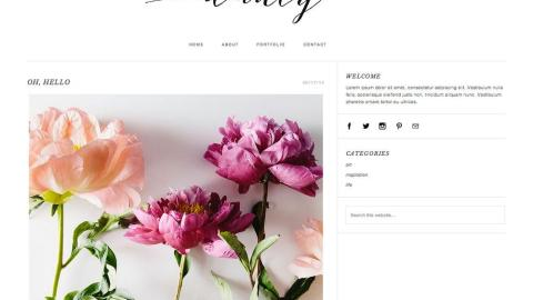 30 Amazing Blog Templates from Etsy | StyleCaster
