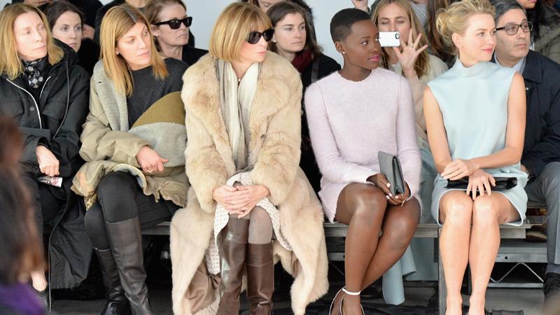 Calvin Klein Collection - Front Row - Mercedes-Benz Fashion Week Fall 2014