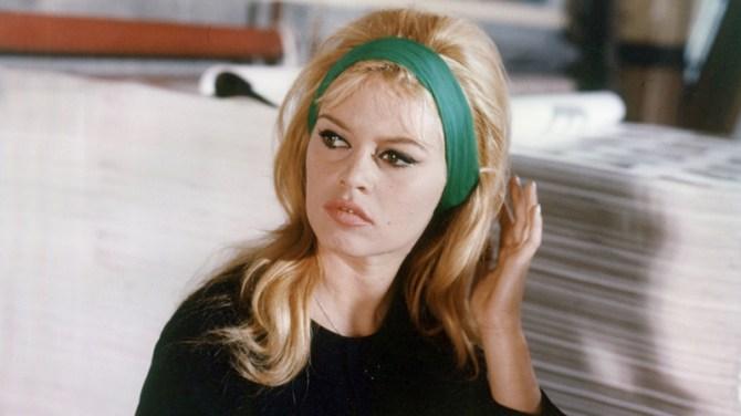 Bardot fashion icon