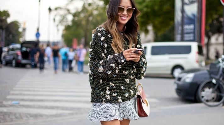 Gorgeous Street Style From Paris Fashion Week