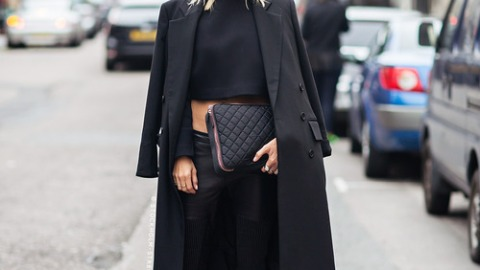 25 All-Black Fall Outfits | StyleCaster