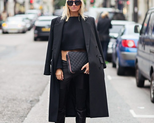 25 All-Black Outfits for Fall That are Anything But Basic