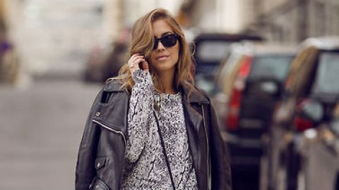 25 Ways to Style a Leather Jacket | StyleCaster