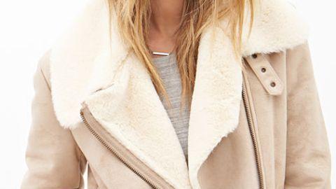 15 Stylish Faux Shearling Jackets  | StyleCaster