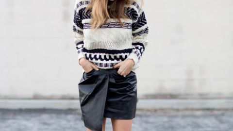 40 Outfits to Build Around a Black Skirt | StyleCaster