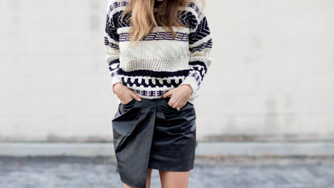 40 Stylish Fall Outfits to Build Around a Black Skirt