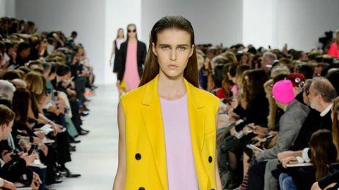 Love Dior's Yellow Sleeveless Coat?  | StyleCaster