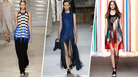 Spring Trend To Wear Now: Fringe | StyleCaster