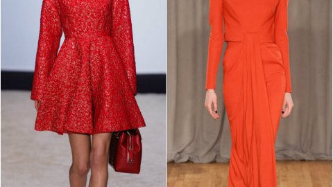 Fall 2014 Trend: Red Dresses | StyleCaster
