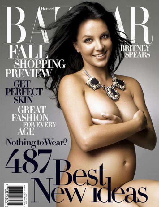 naked celebrities britney spears pregnant