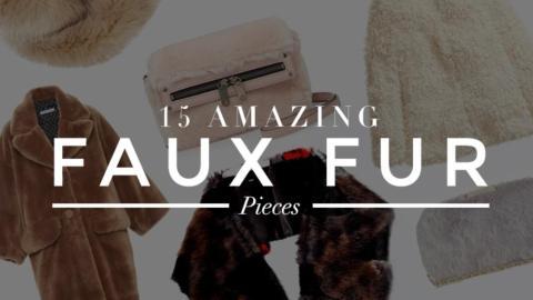 15 Gorgeous Faux Fur Pieces  | StyleCaster