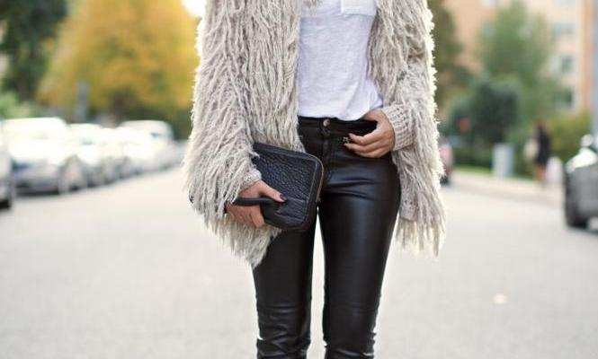 30 Outfits That'll Make You Want a Pair of Leather Pants Right Now