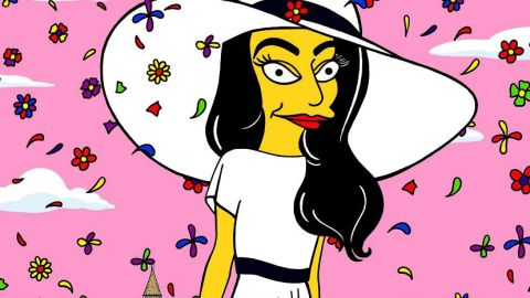 Amal Alamuddin is a Simpsons Character | StyleCaster
