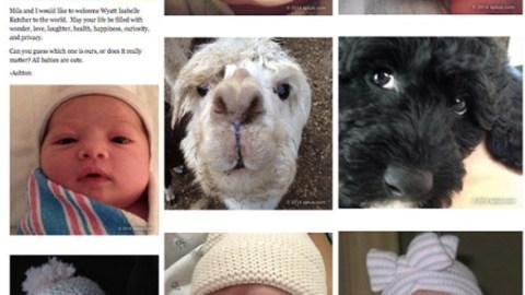 Mila and Ashton Reveal Baby Name!   StyleCaster