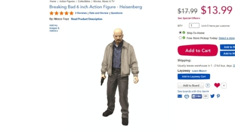 'Breaking Bad' Toys Pulled From Store | StyleCaster