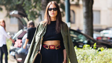 Yes, You Can Wear Crop Tops in the Fall—Here's How!