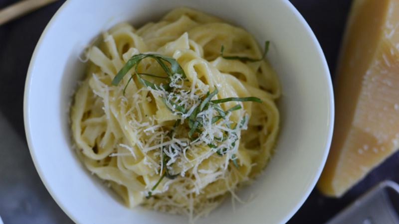 reheating pasta healthier
