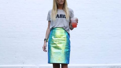 How to Work Metallics into Your Look  | StyleCaster