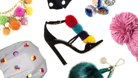 We're Obsessed With Pom Poms!  | StyleCaster